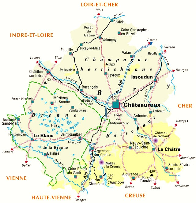 carte indre