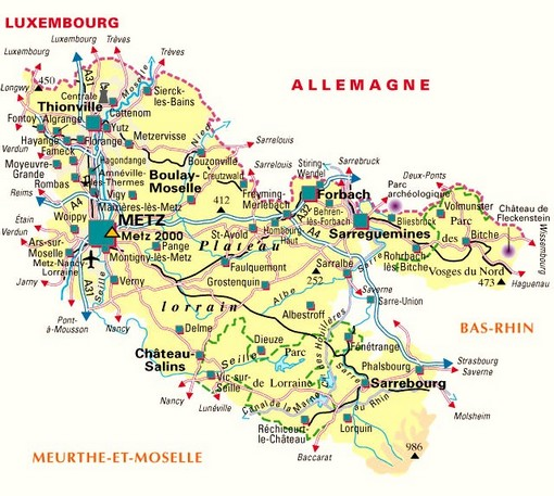 carte moselle