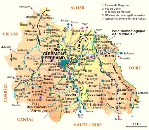 carte puy_de_dome